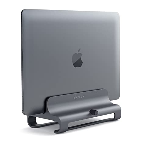 SATECHI Soporte Vertical Universal de Aluminio para Portátil MacBook, MacBook Pro, DELL XPS,