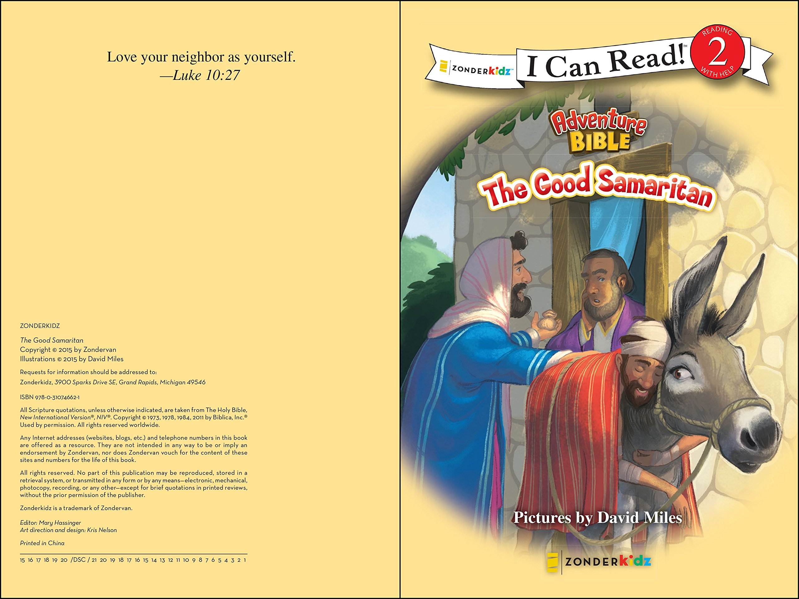 amazon com the good samaritan i can read adventure bible