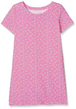 Calvin Klein Modern Cotton S/S Dress, de Una Sola Pieza Pijamas para Niñas: Amazon.es: Ropa y accesorios