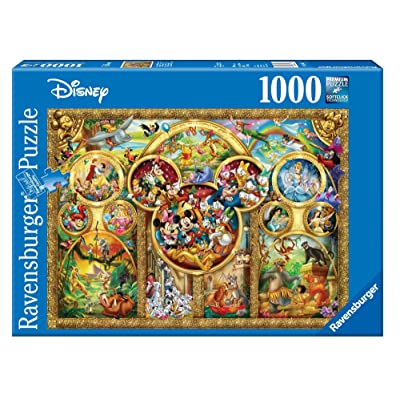 Ravensburger Disney Best Themes Jigsaw Puzzle (1000 Piece): Toys & Games
