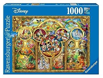 Ravensburger 15266 Puzzle Les Plus Beaux Themes Disney 1000