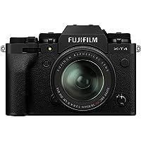 Fujifilm X-T4 Mirrorless Digital Camera, Black with Fujinon XF18-55 mm F2.8-4 R LM Optical Image Stabiliser Lens Kit