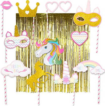 Amazon.com: Unicorn Party Supplies – Kit completo de ...