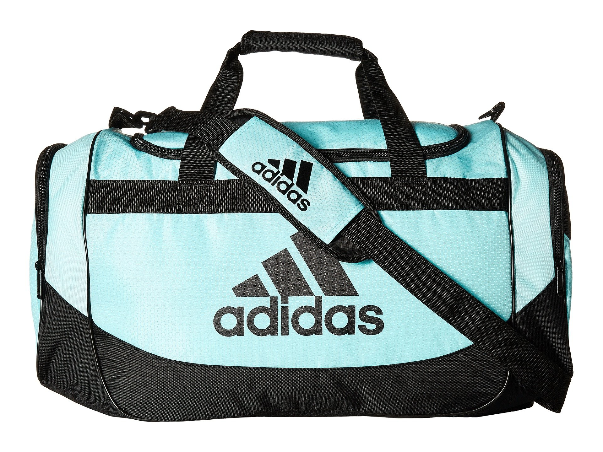 adidas Unisex Medium Defense Duffel Clear Aqua/Black One Size