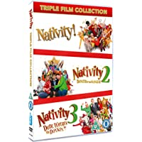 Nativity Triple Film Collection [DVD] [2015]