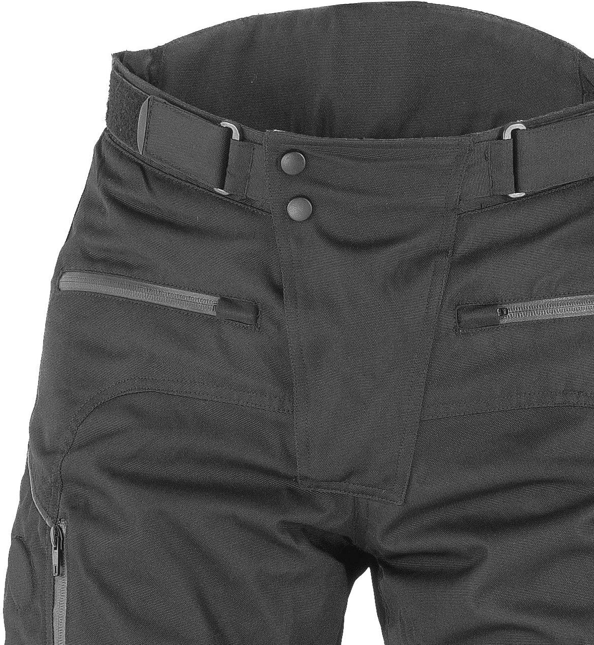 6XL Black NERVE 1011040404/_10 Highway Motorcycle Trousers