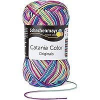 Schachenmayr Catania Color 9801780 Handstrickgarn, Häkelgarn, Baumwolle