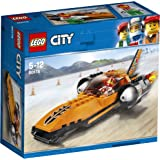 LEGO City Vehicles Speed Record Car Building Blocks for Kids 5 to 12 Years (78 Pcs) 60178 (Multi Color)