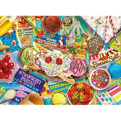 Buffalo Games - Aimee Stewart - Banana Split - 1000 Piece Jigsaw Puzzle: Toys & Games