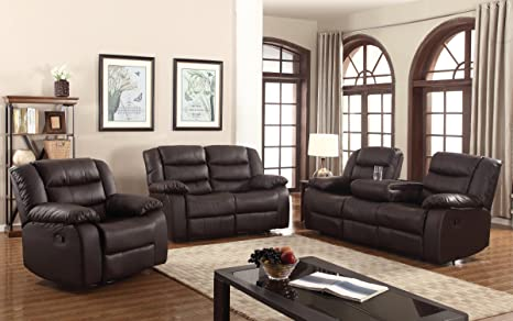 Admirable Amazon Com U S Livings 2 Pc Dark Brown Polyurethane Ibusinesslaw Wood Chair Design Ideas Ibusinesslaworg
