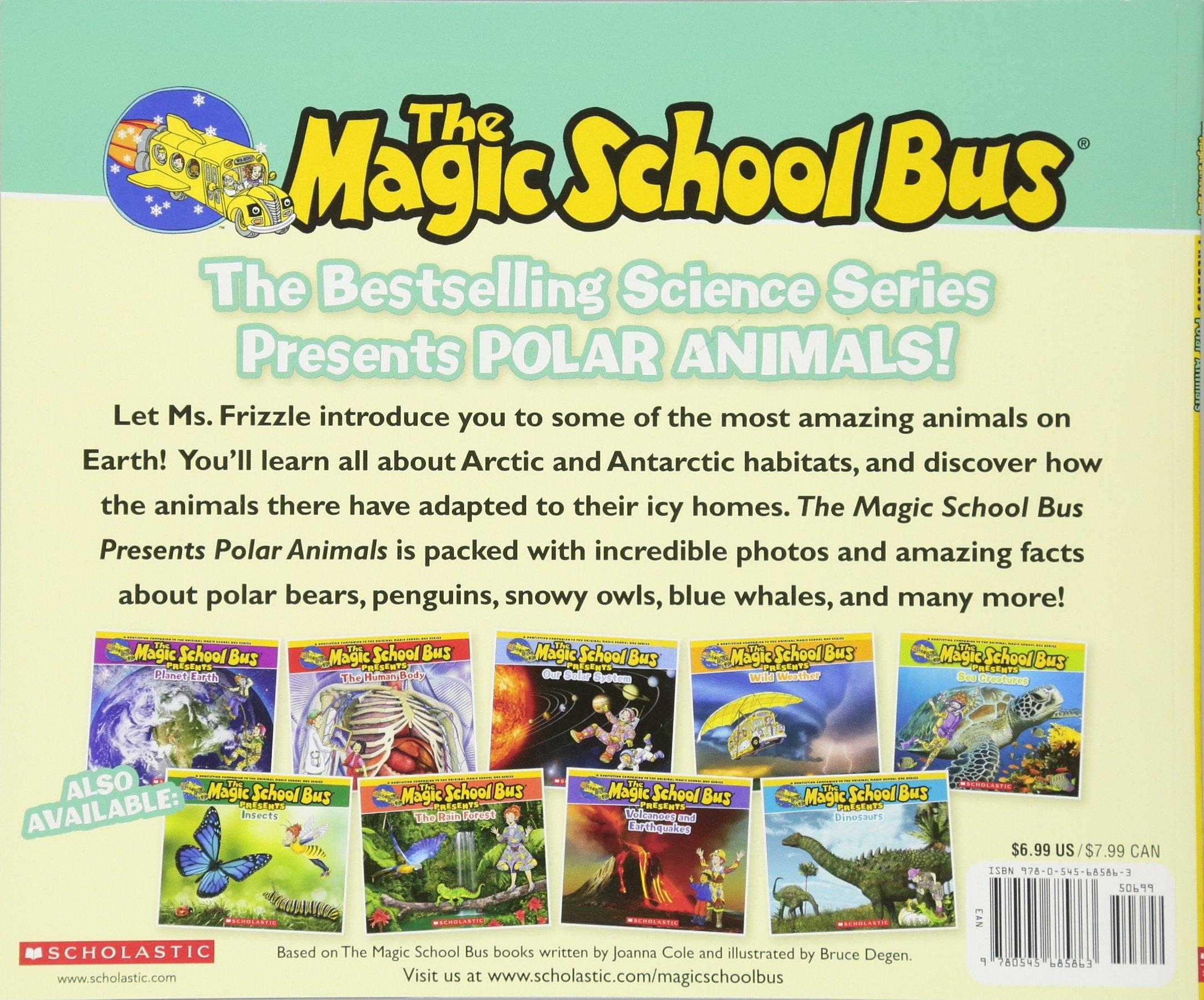 magic bus presents polar animals a nonfiction companion