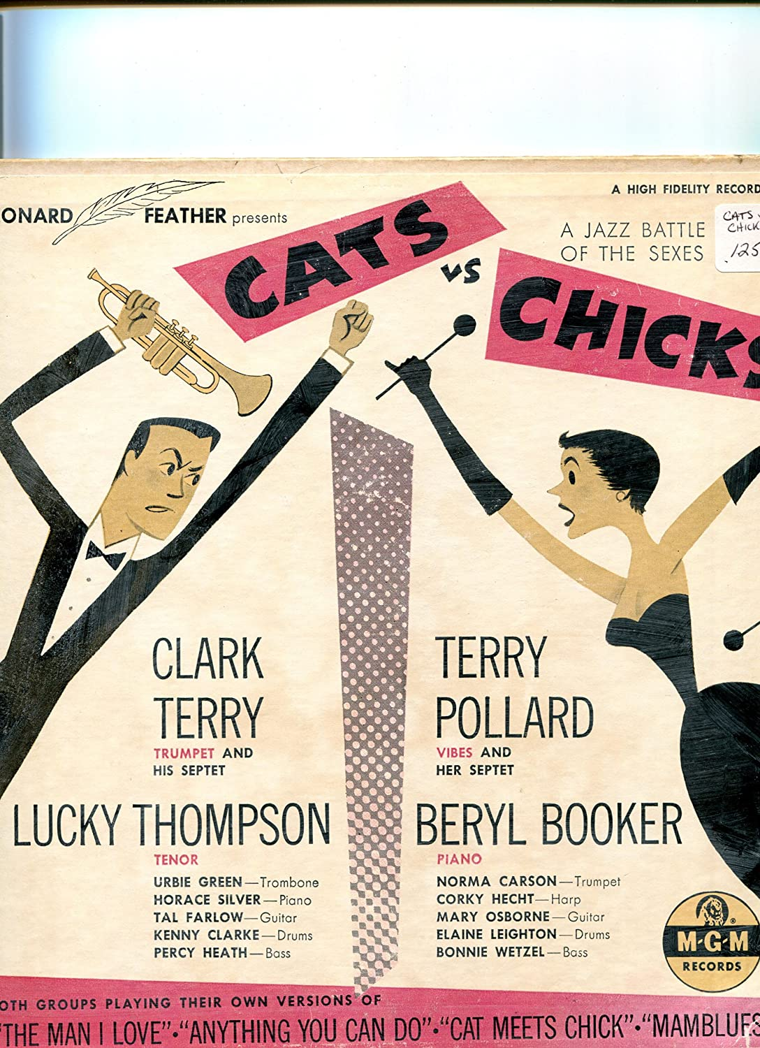 Various Leonard Feather Presents Cats Vs Chicks A Jazz Battle Of