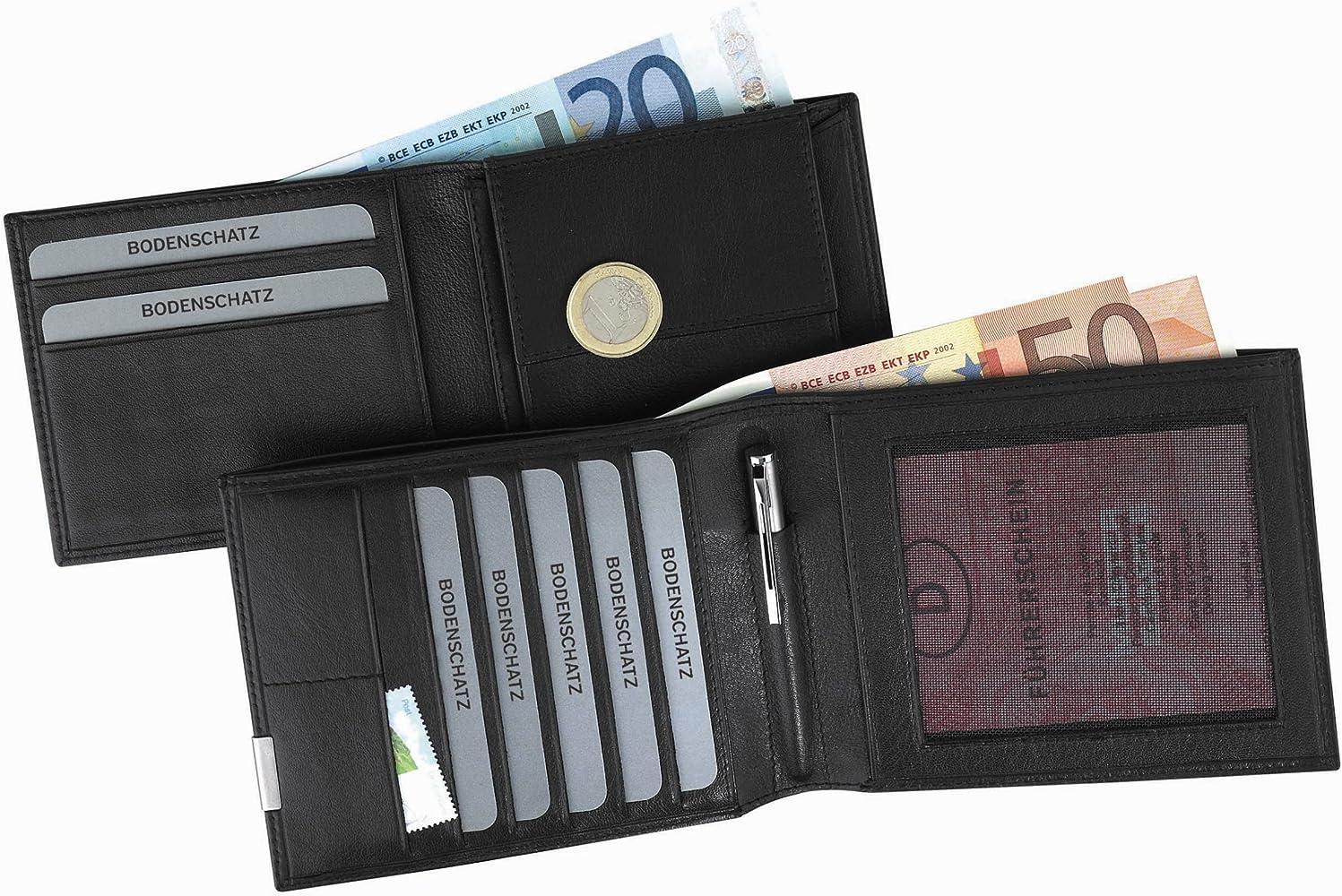 Geldbörse Pfiffikus BODENSCHATZ KINGS NAPPA 8 777 KN 01 RFID