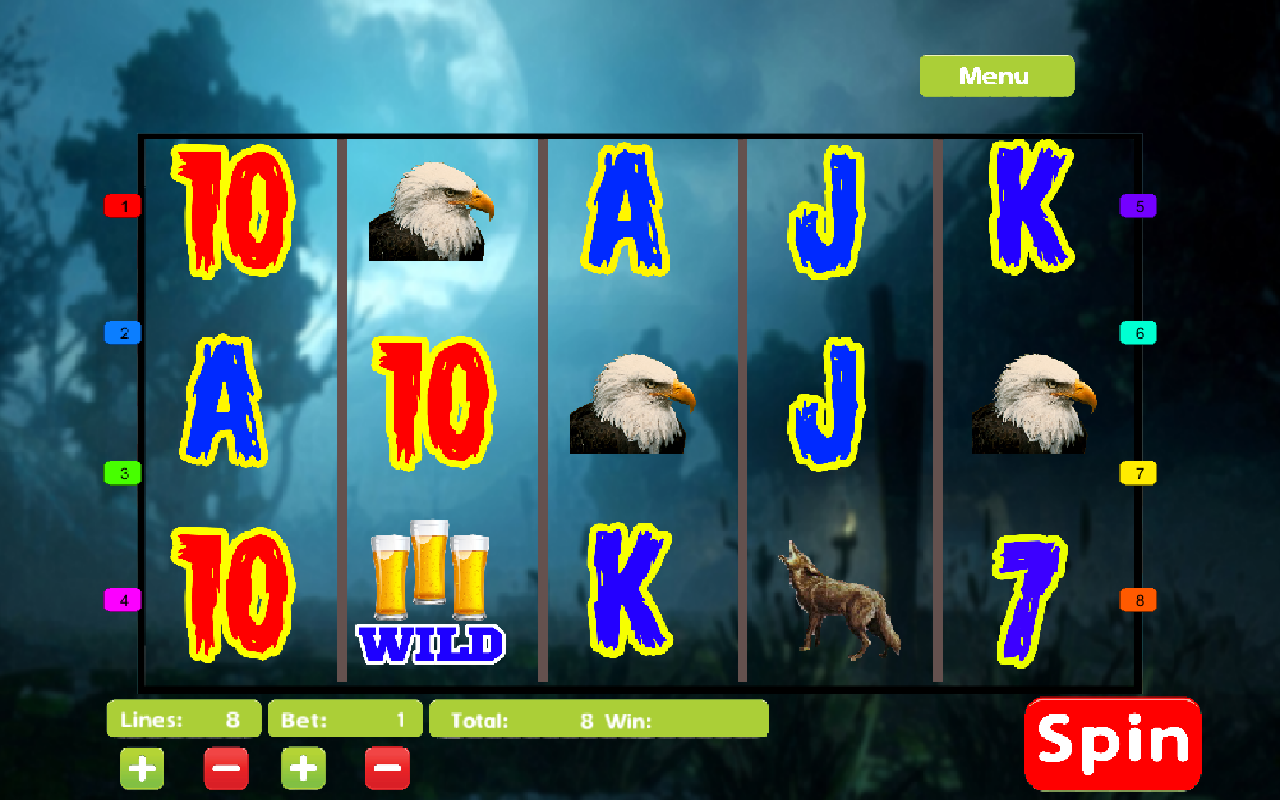 Coyote moon slot machine gratis