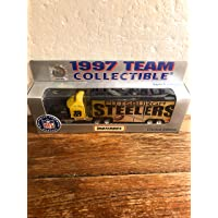 $24 » NFL 1997 Team Collectible Matchbox Tractor Trailer Pittsburgh Steelers Diecast 1:80 Scale Replica
