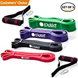 Pull Up Assist Bands Exercise Resistance Bands Set Best Heavy Duty Stretching Band for Fitness Body Stretch Powerlifting Workout Bands I Gym & Home Crushing Weight Butt Out Tool Trainings Yoga Pilates