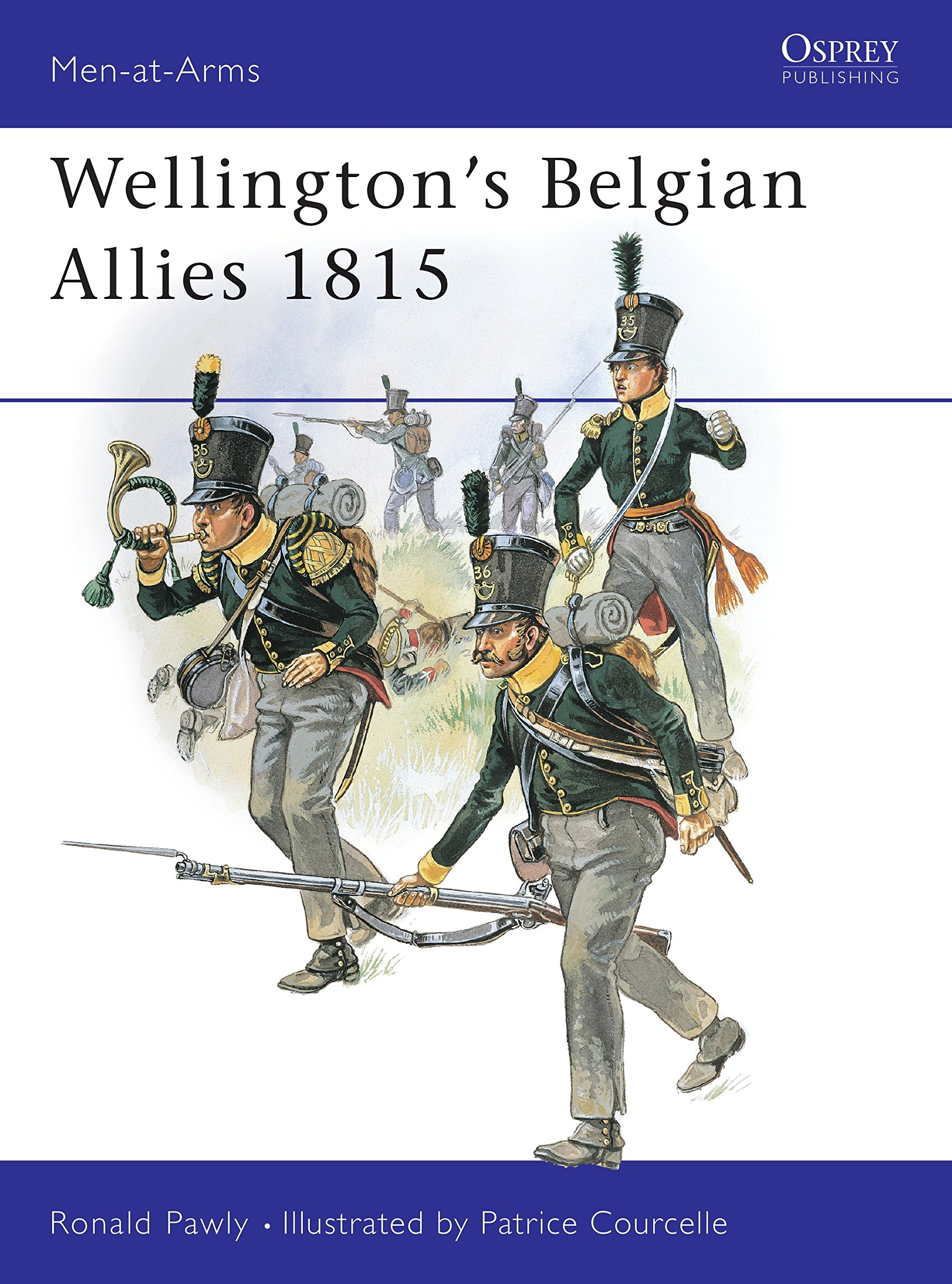 Wellingtons Belgian Allies 1815