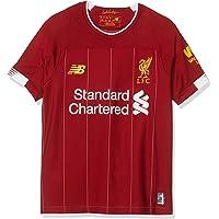 New Balance Liverpool FC 2019/20 Home Junior SS Jersey S/s Top Bebé-Niños