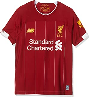 outlet store 1ddab 141f6 New Balance Men's Official Liverpool FC 2019/20 Home Ss ...