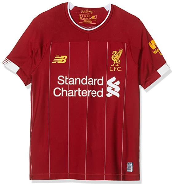 sale retailer 802b8 d61d2 Amazon.com: New Balance Liverpool 2019/20 Kids Youth Home ...