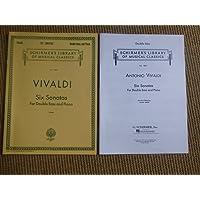 Antonio Vivaldi: Six Sonatas For Double Bass And Piano. Für Kontrabass, Klavierbegleitung
