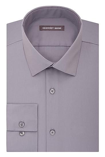 Geoffrey Beene Camisa De Vestir Para Hombre Amazoncom