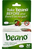 Beano Tablets- Take Beano To Help Digest Gas Causing Foods-30 Tablets Per Box-Packaging May Vary