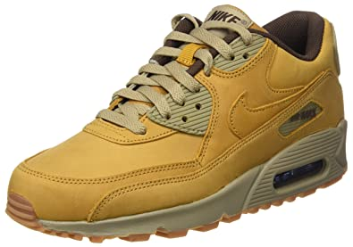 pretty nice da0a4 fbdd8 Nike WMNS Air Max 90 Winter, Chaussures de Sport Femme, Marron Bamboo Bronze