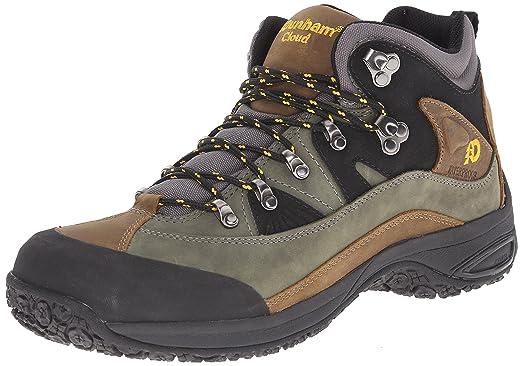 Dunham Men's Cloud Mid-Cut Waterproof Boot, Grey - 8 2E US