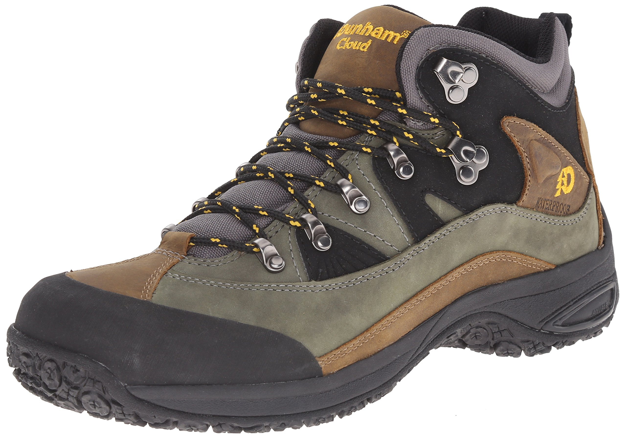 Dunham Men's Cloud Mid-Cut Waterproof Boot, Grey - 8.5 2E US