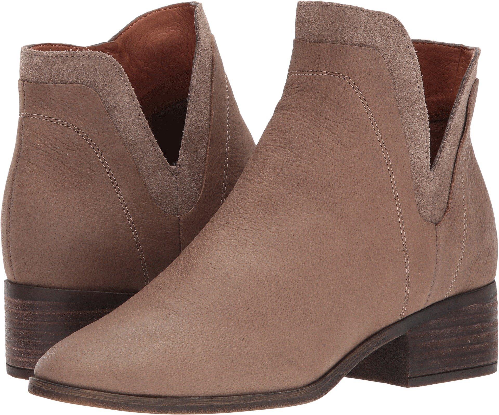 Lucky Brand Women's Lelah Ankle Boot, Brindle, 9 Medium US