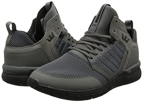 Supra Method, Zapatillas para Hombre, Gris (Eiffel Tower/Black), 40 EU
