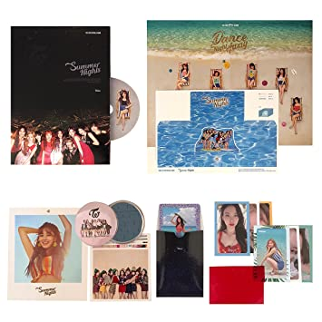 TWICE 2nd Special Album - SUMMER NIGHTS [ C Ver  ] CD + Photobook +