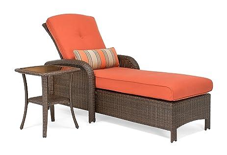 La-Z-Boy Outdoor Sawyer 2 Piece Patio Furniture Chaise bundle (outdoor  chaise - Amazon.com : La-Z-Boy Outdoor Sawyer 2 Piece Patio Furniture Chaise