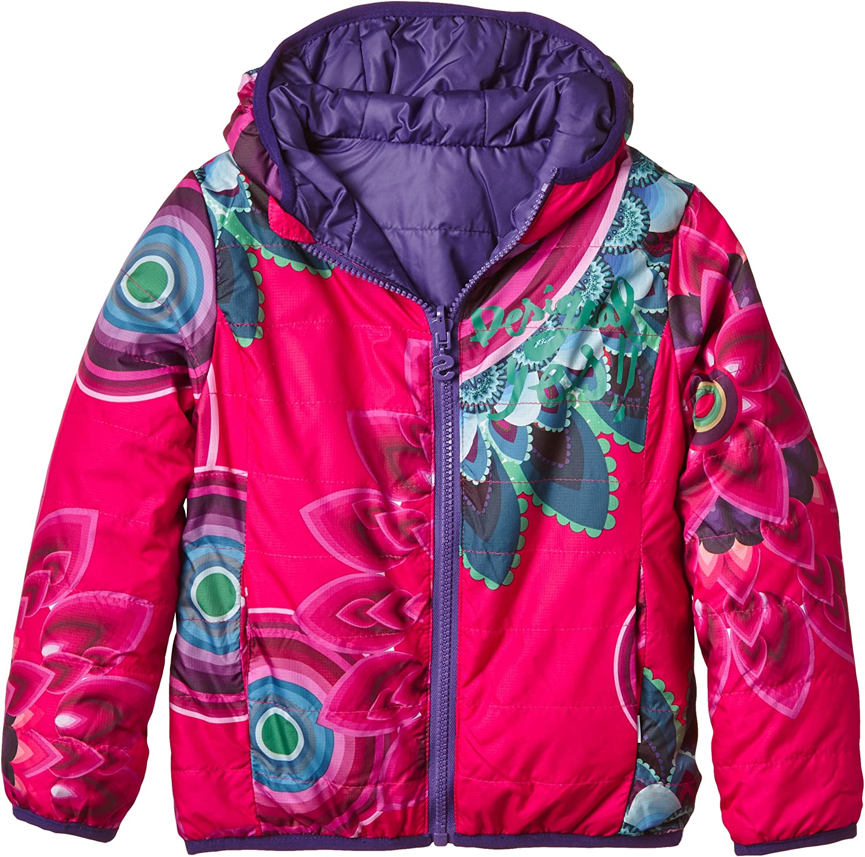 Desigual Super special price Girls' Big Reversible Jacksonville Mall Jacket