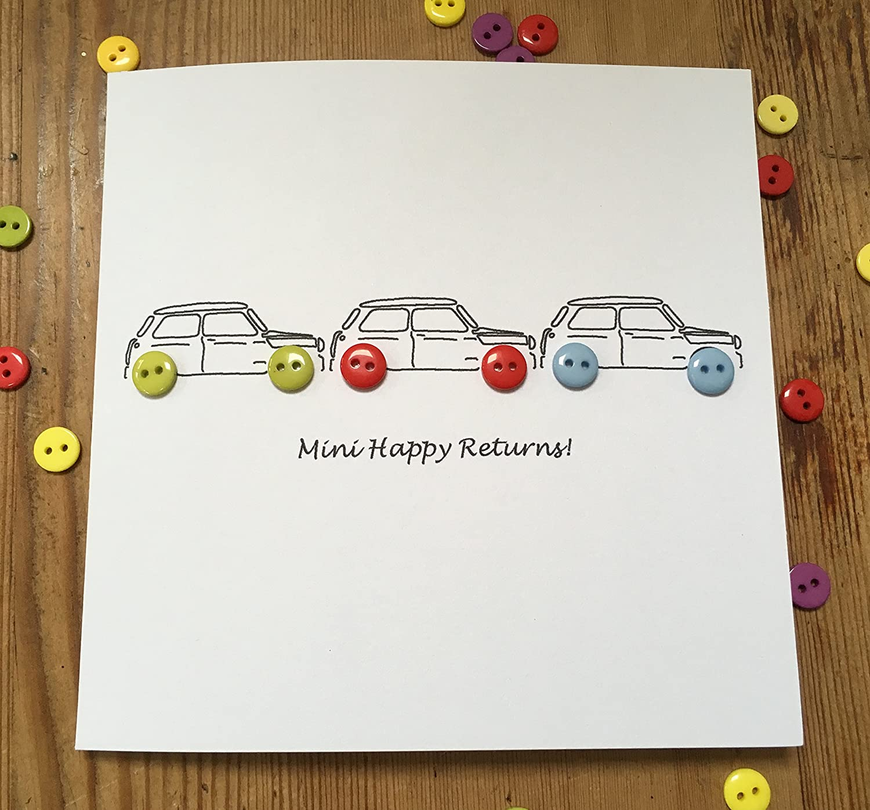 Minis Birthday Card