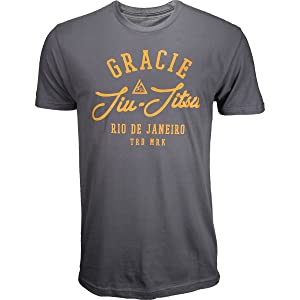 Gracie Jiu-Jitsu Mercury Shirt - Midnight - Medium
