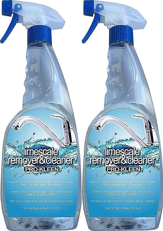 Pro-Kleen Remover Destruye cal de cal y agua marcas cromado grifos ...