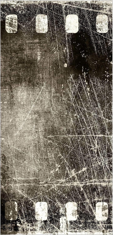 transparenter Halterung Bilderwelten Raumteiler Vintage Film 250x120cm inkl