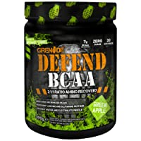 Grenade Defend BCAA, Green Apple, 390 g