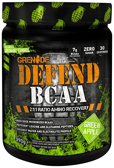 Grenade Defend BCAA Green Apple - 390 gr