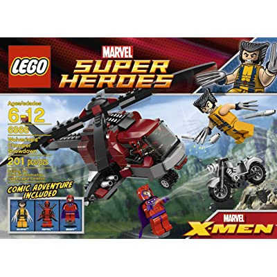LEGO Wolverine Chopper Showdown 6866 (Discontinued by manufacturer): Toys & Games