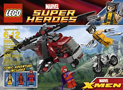 Amazoncom Lego Wolverine Chopper Showdown 6866 Discontinued By