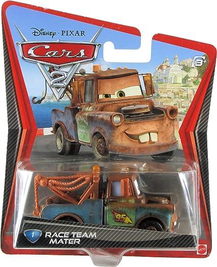 Amazon Com Disney Pixar Cars 2 Movie 155 Die Cast Checkout Lane