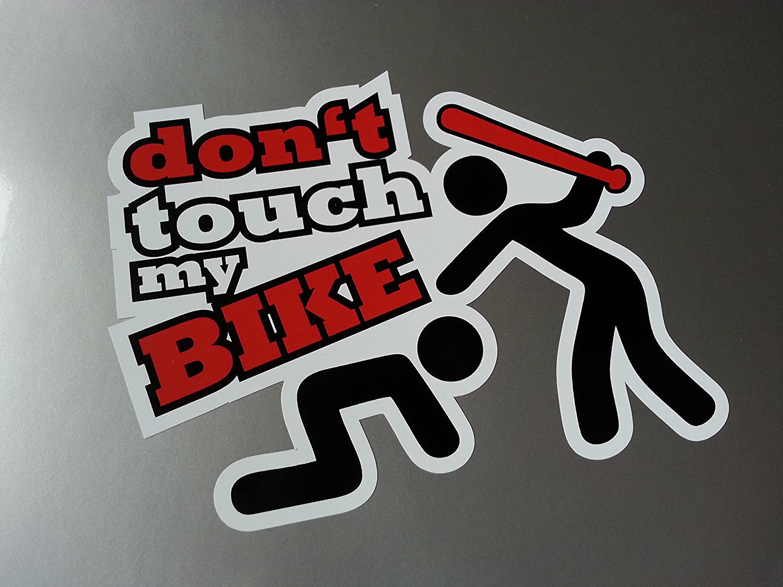 Folien Zentrum Dont Touch My Bike Shocker Hand Auto Aufkleber Jdm Tuning Oem Dub Decal Stickerbomb Bombing Fun Auto