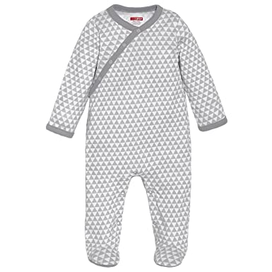 9345c2d6e1a4 Amazon.com  SkipHop Unisex Baby Side-Snap Long Sleeve Footie  Clothing