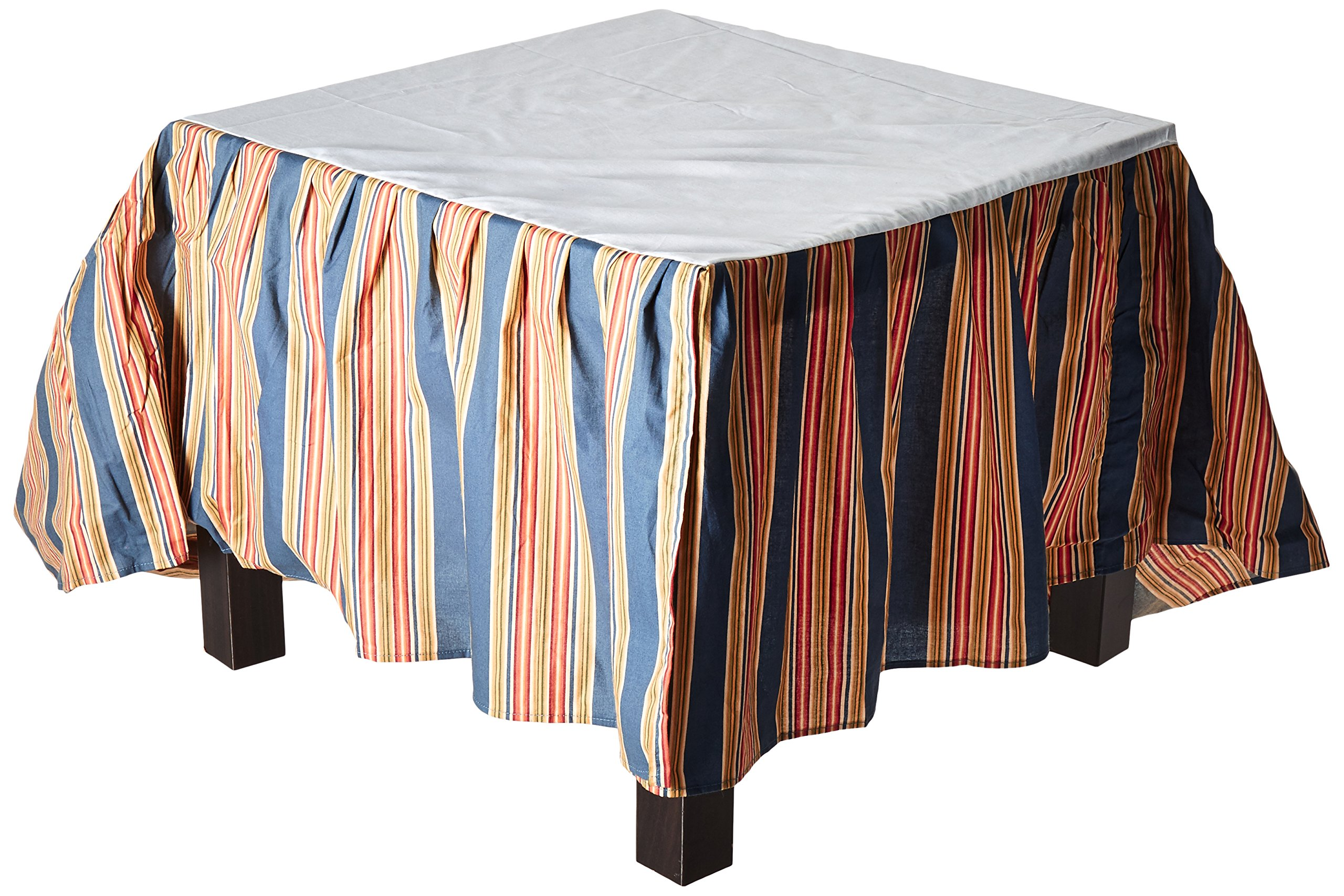 C&F Home Wakefield Stripes King Bed Skirt, 78 by 80-Inch