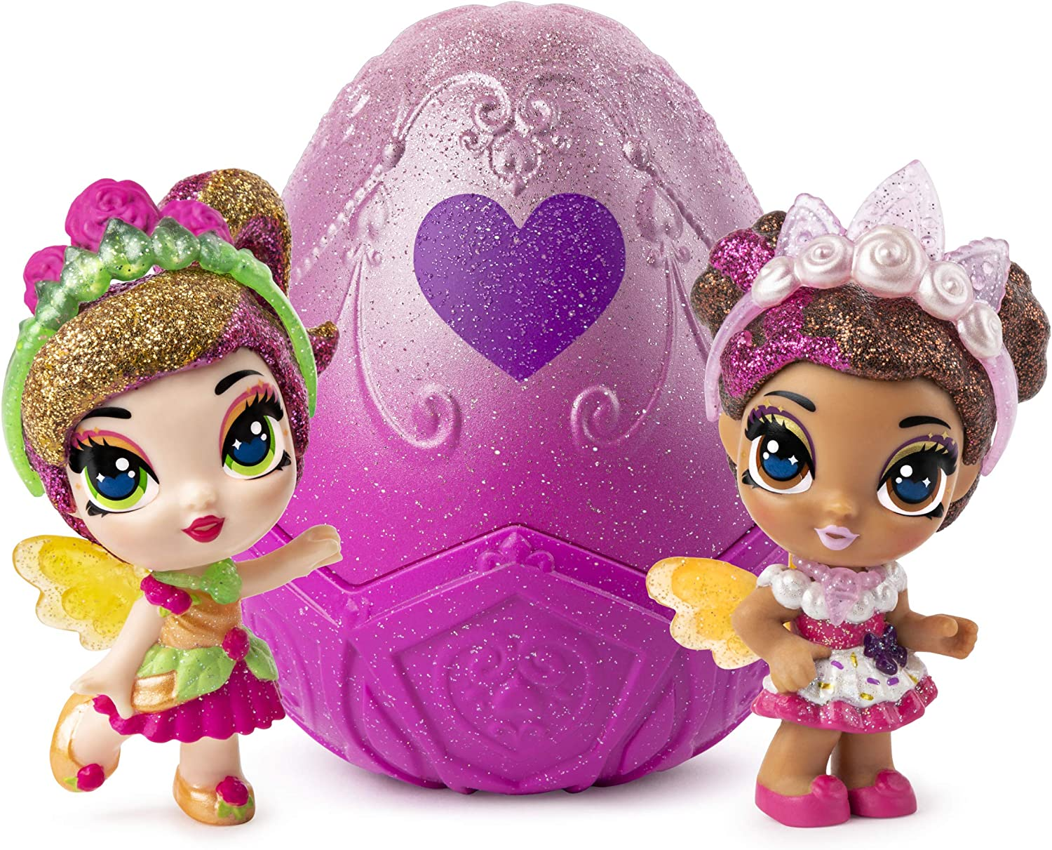 Hatchimals Pixies Royal SnowBall Pink Mystery Egg Magical Snow Ball Surprise