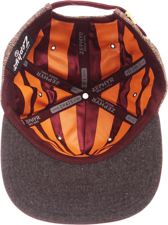 Adjustable NCAA Zephyr Missouri Tigers Mens Legend Heritage Collection Hat Tweed