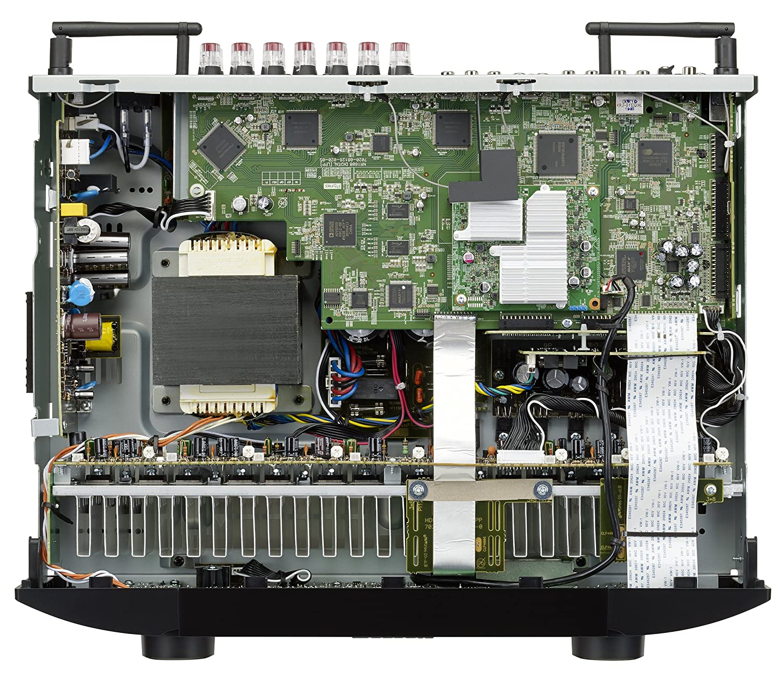Marantz NR1608 50W 7.1canales Envolvente 3D Negro - Receptor AV (50 W, 7.1 Canales, Envolvente, 90 W, Inalámbrico y alámbrico, AAC+,MP3,WMA): Amazon.es: ...